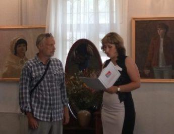 15 июля в Картинной галерее им. Д. А. Трубникова состоялось открытие выставки работ Александра Вербина «Где-то в середине лета…».