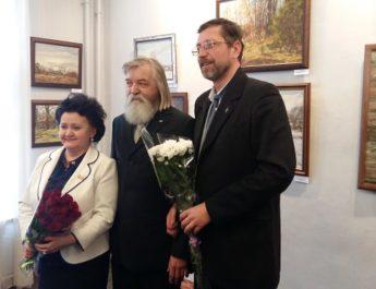 17 февраля в Картинной галерее им. Д.А. Трубникова состоялось открытие персональной юбилейной выставки В.П. Журавлева «Середа. Начало XX века»