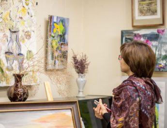 9 декабря в музее открылась VII ежегодная выставка непрофессиональных художников «Созвучие»