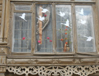 Картинная галерея им. Д.А. Трубникова приняла участие в акции «Окна Победы»
